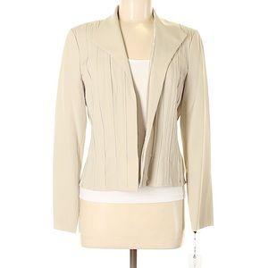 Calvin Klein khaki blazer, size 8 NWT